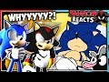 Sonic & Shadow Reacts To Sonic Funeral!
