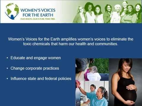 Women's Voices for the Earth: Pregnancy & Toxic Chemicals to Avoid