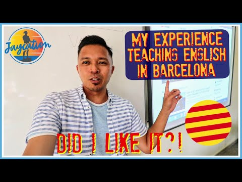 TEACHING ENGLISH IN SPAIN- Auxiliares de Conversacion Experience in Barcelona