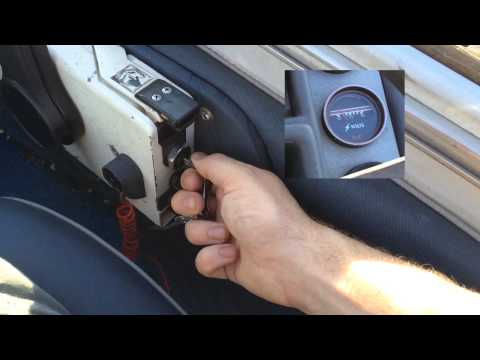 How to Start an Evinrude Boat Engine