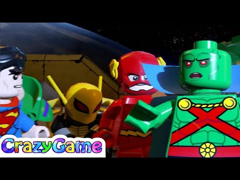 LEGO Batman 3 Episode 5 - Flash, Batman, Wonder Woman, Joker and Robin