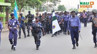 The types of uniforms used by the Nigerian Navy