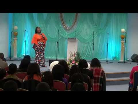 Vessels Of Honour Conference 2016 - Rev(Mrs) Funke Felix-Adejumo