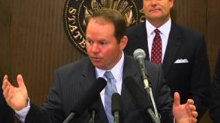Florida Fair Audit Press Conference With Senator Aaron Bean