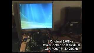 XFX nForce 630i GeForce 7150 - Pentium 4 630 Overclocked
