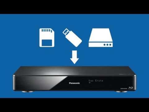 Panasonic Blu-ray Recorder - Speicherort für Filme, Musik und Fotos