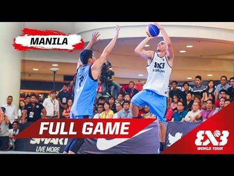 Novi Sad Alwahda (UAE) v Manila North (PHI) - Final - Full Game - Manila - 2015 FIBA 3x3 World Tour