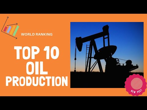 📊 Top 10 Countries in OIL PRODUCTION 🌐
