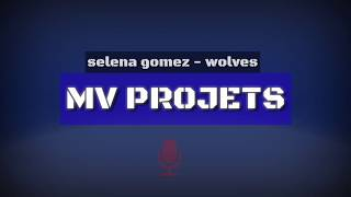 Mv projets (selena gomes&marshmello - wolves) free download achapella