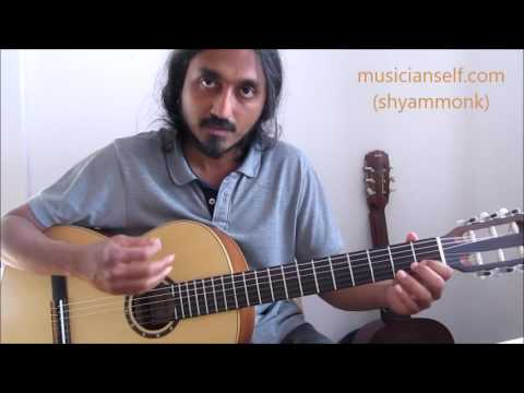 [raagify] Indian ragas from western scales: Basic C major scale, Raga Shankarabharanam, Mohanam