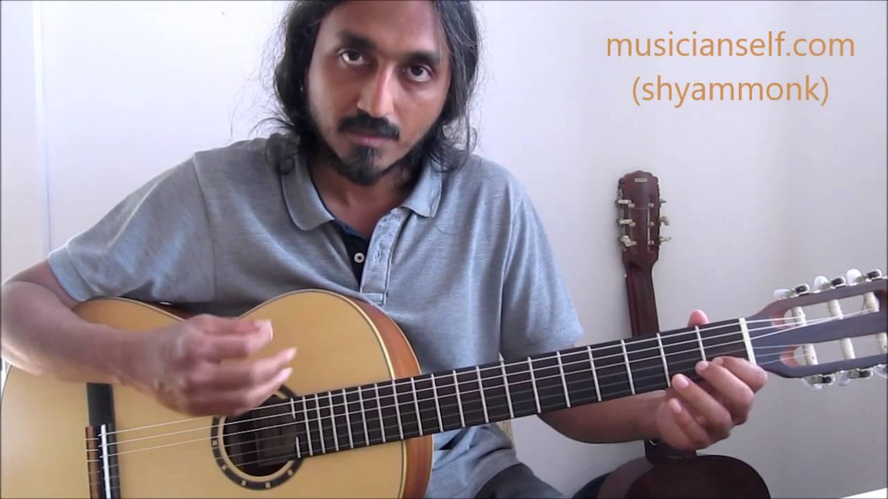 [raagify] Indian ragas from western scales: Basic C major scale, Raga Shankarabharanam, Mohanam