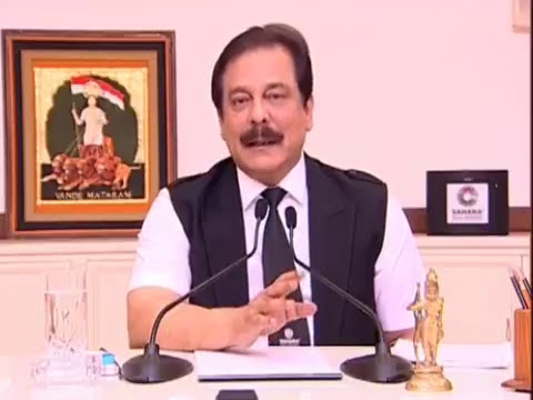 Subrata Roy Sahara का latest बयान!!! Sahara India Pariwar Revealed now!!