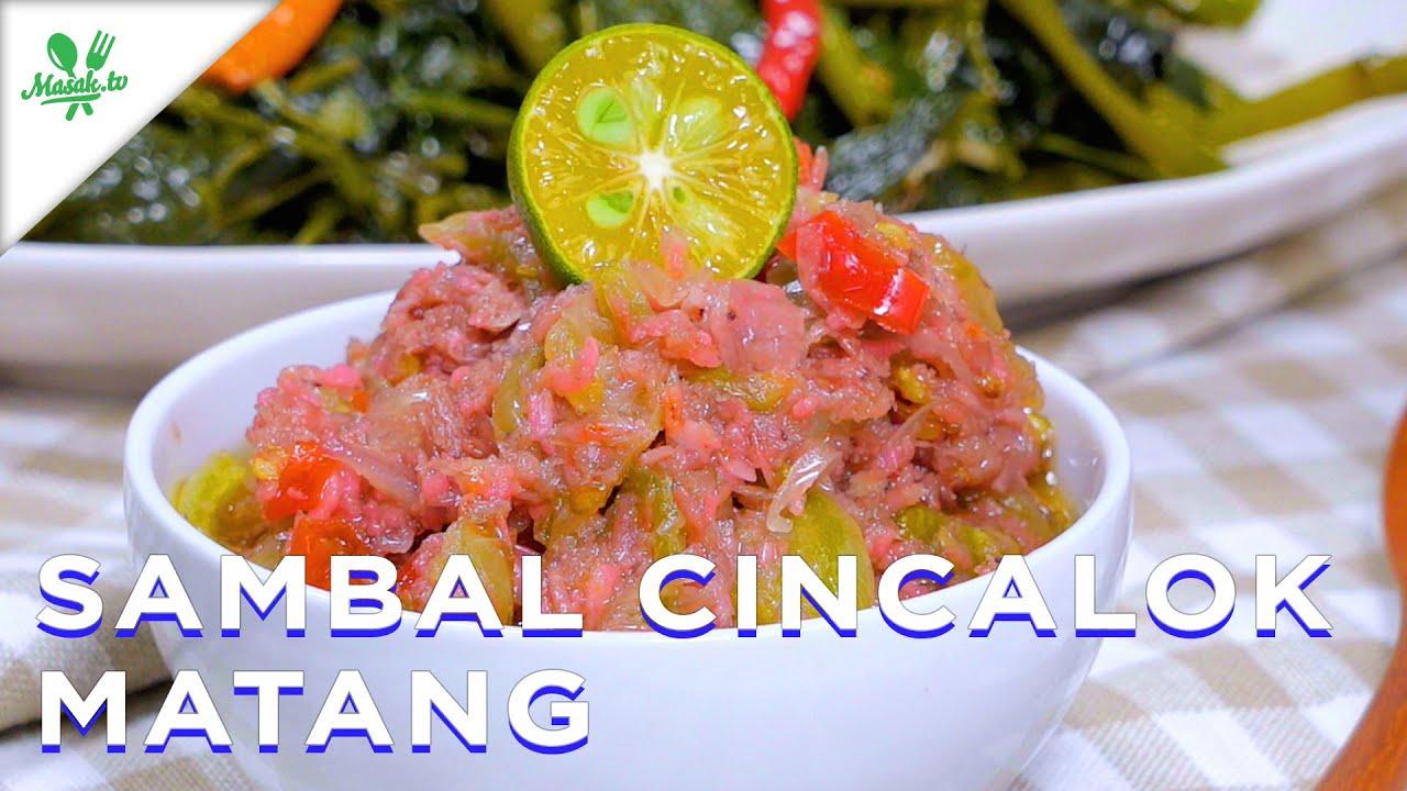 Sambal Cincalok Matang