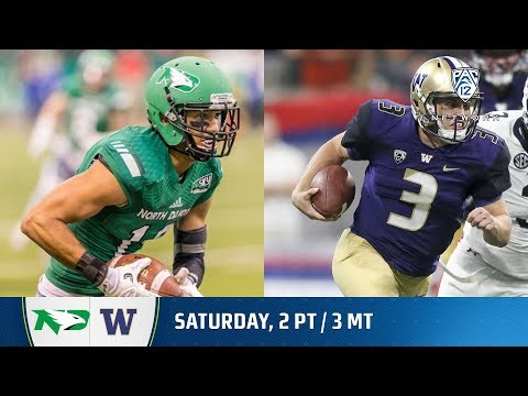 North Dakota-Washington football game preview