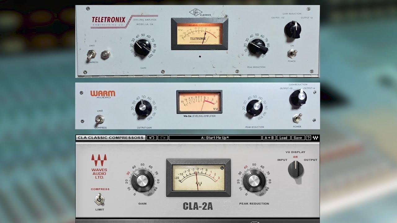 Warm Audio WA2A vs UA LA2A | Recording
