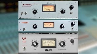 Teletronix LA-2A vs. Warm Audio WA-2A vs. Waves CLA-2A