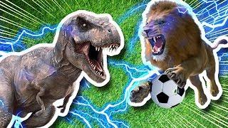 CHAMPIONS LEAGUE DE ANIMALES Y DINOSAURIOS | Folagor03