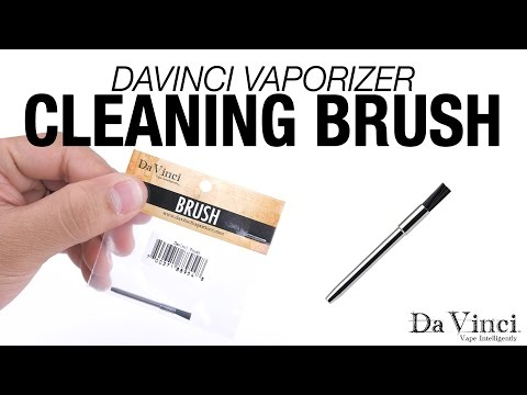 DaVinci Vaporizer – Cleaning Brush Overview