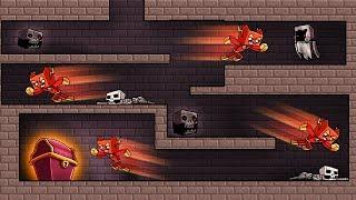 Minecraft - HACKER SPEED HACKS TO ESCAPE UNDERGROUND DUNGEON!