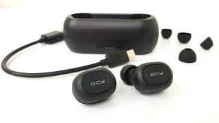 🎧 Kvalitné bezdrôtové slúchadlá do uší QCY T1C (rozbaľovanie / unboxing)