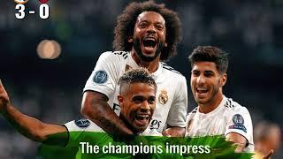 Champions League gameweek summary 19/09/18