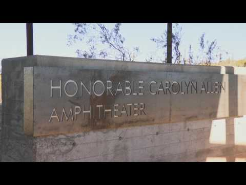Carolyn Allen Amphitheater Dedication