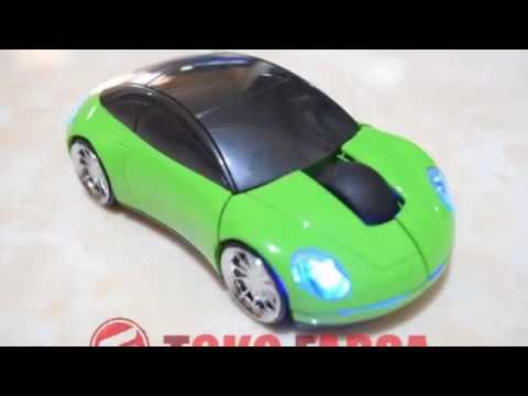 car-shape-wireless-mouse---green-(mouse-mobil-mini-warna-hijau)