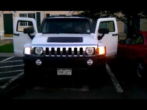 Hummer H3 Led Switchback Mod Youtube