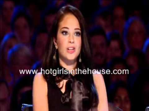Marriage Proposal Paul Ricketts Samantha Hallam XFACTOR 2011