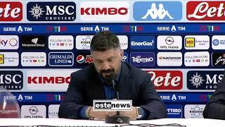 Napoli-Fiorentina 0-2, Gattuso: