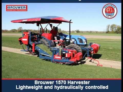Kesmac - 2200 - Sod Harvester - Sod Harvester by Brouwer Kesmac