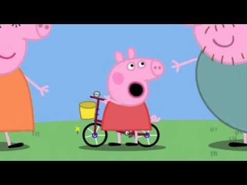 Peppa Pig Rides Her Bike Episode 2 English