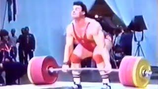 Aleksandr Kurlovich — 260 kg Clean & Jerk (1987).