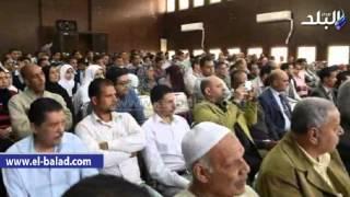 بالفيديو.. محافظ الفيوم يشهد فعاليات ندوة مخاطر الهجرة غير الشرعية والفرص البديلة