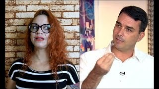 Entrevista de Flávio Bolsonaro na Record