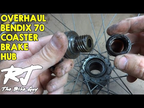 Overhaul/Repair Bendix 70 Coaster Brake Hub