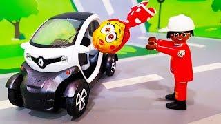 Мультики про машинки. Видео для детей - Белая машинка попала в аварию. Развивающие мультфильмы ЛЕГО