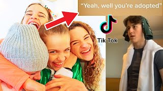REACTING TO SIBLING TIKTOKS THE NORRIS NUTS CHOSE