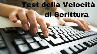 Test Velocità di Scrittura su Tastiera Online (Gratis in Italiano)
