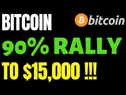 BITCOIN PRICE WILL SEE A 90% RALLY TO $15,000!!! | XRP Price Hits Three-Week High!
