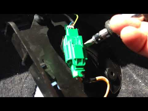 Peugeot 307  Airbag seat connection  Electronical