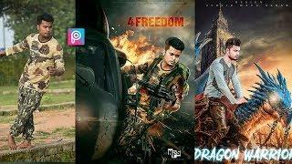 How to edit photo like sonu rajput (sr) in mobile | picsart |  Sonu rajput lettest photo editing