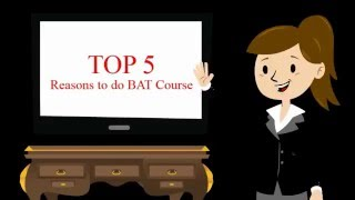 Benefits of doing Business Accounting Taxation BAT Course