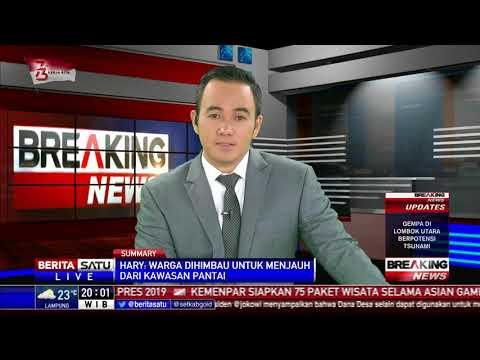 Gempa 7 SR di Lombok, BMKG: Kita Keluarkan Peringatan Dini Tsunami