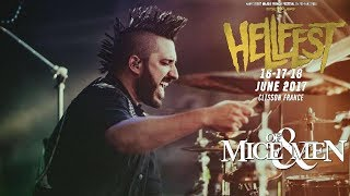 Never Giving Up - Of Mice & Men (Hellfest Festival) HD