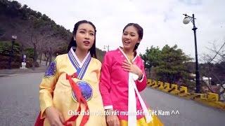 Hoa hậu Mỹ Linh - Á hậu Thanh Tú khám phá Thượng Hải - NHật Bản - Hàn Quốc bằng Du thuyền 5 sao