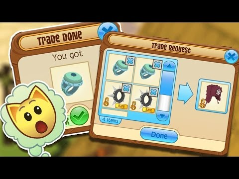 ANIMAL JAM: INSANE LIVESTREAM TRADES!