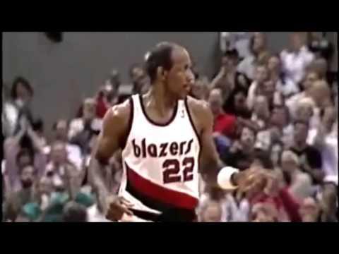 Clyde Drexler: Trail Blazers Highlight Reel HD
