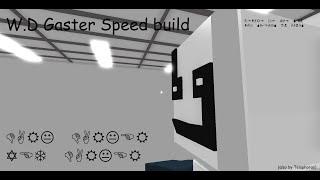 Roblox BYM: compilazione velocità W.D Gaster