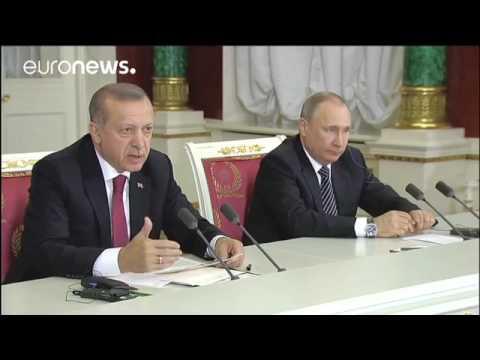 Krise beigelegt Russland und Türkei loben ihre Zusammenarbeit